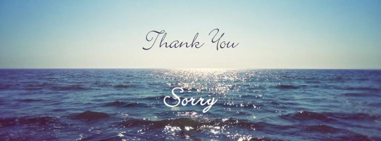 ThankUSorry